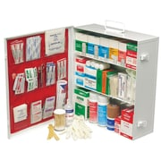 Swift First Aid Medium Industrial 180 3 Shelf First Aid Cabinet