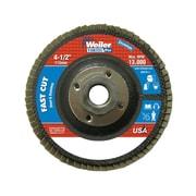 "Weiler® Vortec Pro® 804-31353 4 1/2"" 120Z Abrasive Flap Disc (804-31353)"