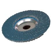 "Weiler® Tiger® 804-50663 4 1/2"" 40Z Abrasive Flap Disc (804-50663)"