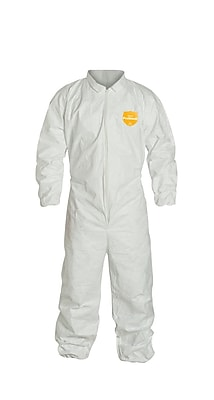 Dupont™ SAFESPEC™ 2.0 Proshield® Coverall With Hood, White, Large