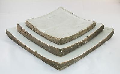 Zentique Square Plate; Medium