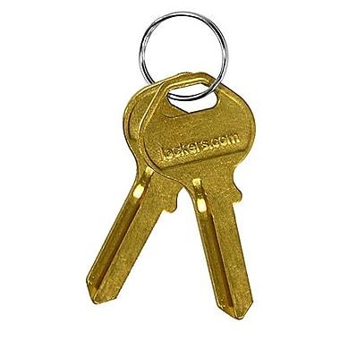 Salsbury Industries Blank Key for Designer Wood Locker (Set of 50)