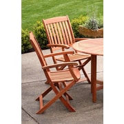 Buyers Choice Phat Tommy Spontaneity Folding Patio Dining Chair (Set of 2)