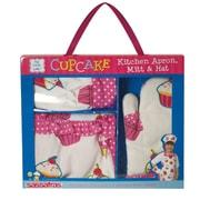 Sassafras Ruffle Cupcake Apron Set