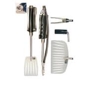 Grill Daddy Heat Shield Ulitmate BBQ 6 Piece Tool Set