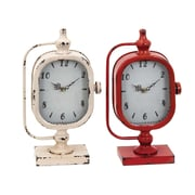 Woodland Imports Solid Clock (Set of 2)