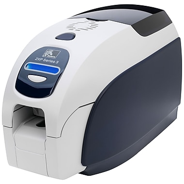 Zebra Card Printers – Imprimante à cordon d'alimentation double USB seulement (3) Zxp Z32-00000200Us00