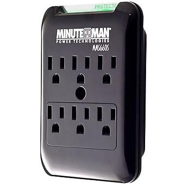 Minuteman Slimline Series MMS660S, surge protector, 1.8 kW