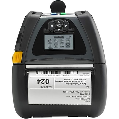 Zebra® Mobile QLn420 Direct Thermal Portable Monochrome Printer