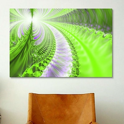 iCanvas Digital Pluto's Forests Graphic Art on Canvas; 26'' H x 40'' W x 0.75'' D