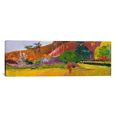 iCanvas 'Tahitian Landscape' by Paul Gauguin Painting Print on Wrapped Canvas