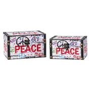 Household Essentials 2 Piece Peace Design Box Set