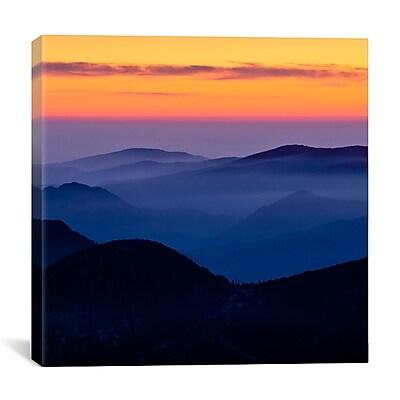 iCanvas ''Rising Mist #2'' by Dan Ballard Photographic Print on Cavas; 12'' H x 12'' W x 0.75'' D