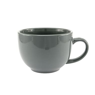 Creative Home 23 oz. Soup Mug; Mid Grey
