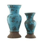 Crestview Sea Side 2 Piece Alexa Vase