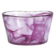 Kosta Boda Mine Medium Bowl; Pink
