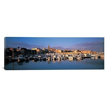 iCanvas Panoramic Alghero Sardinia Italy Photographic Print on Canvas; 12'' H x 36'' W x 1.5'' D