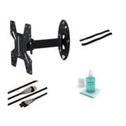 Atlantic Articulating Arm/Swivel/Tilt Wall Mount Kit for 10''- 37'' Flat Panel Screens