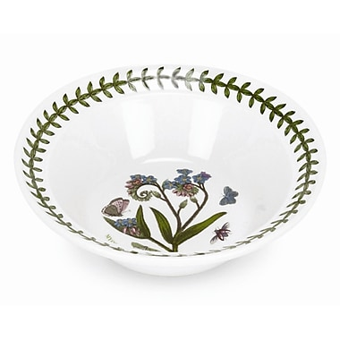 Portmeirion Botanic Garden 8 oz. Oatmeal and Soup Bowl (Set of 6)
