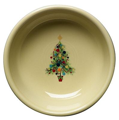 Fiesta Christmas Tree Cereal Bowl