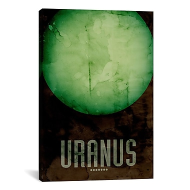iCanvas 'The Planet Uranus' by Michael Tompsett Graphic Art on Wrapped Canvas