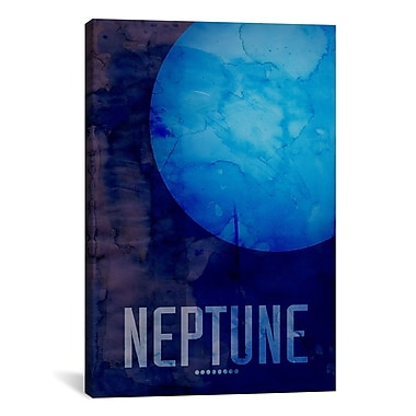 iCanvas 'The Planet Neptune' by Michael Tompsett Graphic Art on Wrapped Canvas