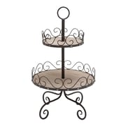 Woodland Imports 2 Tier Tiered Stand