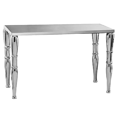 Modern Day Accents Jackson Aluminum Bench; Long