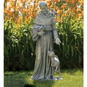 Joseph's Studio Saint Francis w/ Deer Statue