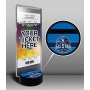 That's My Ticket 2014 NBA All-Star Game New Orleans Pelicans Ticket Display Stand