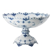 Royal Copenhagen Blue Fluted Full Lace Cake Stand