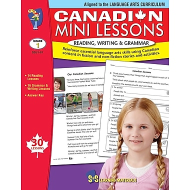 Canadian Mini Lessons: Reading, Writing and Grammar, Grade 1