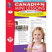 Canadian Mini Lessons: Reading, Writing and Grammar, anglais