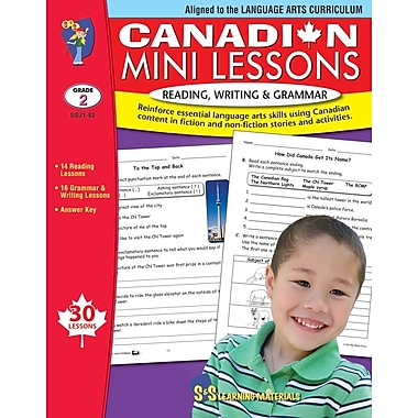 Canadian Mini Lessons: Reading, Writing and Grammar, Grade 2