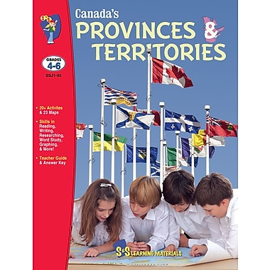 Canada's Provinces and Territories, Grade 4-6