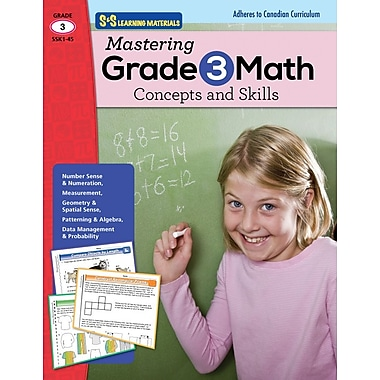 Mastering Math: Concepts and Skills, Grade 3