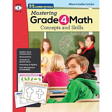 Mastering Math: Concepts and Skills, Grade 4