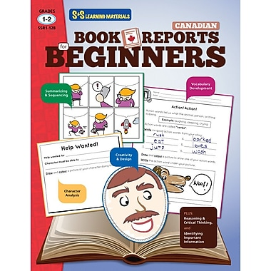 Book Reports for Beginners, Grade 1-2