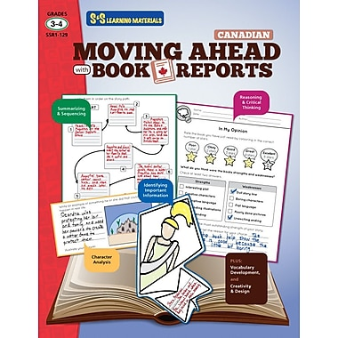 Moving Ahead with Book Reports, Grade 3-4