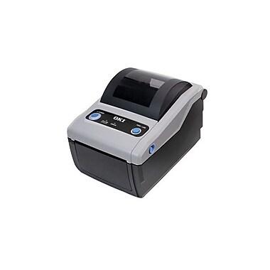 Okidata® LD610TT Monochrome Parallel Thermal Transfer Label Printer, 203 dpi, 4 ips (62306801)