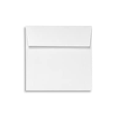 LUX Peel & Press 5 3/4 x 5 3/4 Square Envelopes, 70lb., Bright White, 500/Box (8520-70W-500)