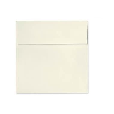 LUX Peel & Press 6 1/4 x 6 1/4 Square Envelopes, Natural Linen