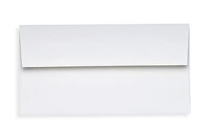 LUX Slimline Invitation Envelopes (3 7/8 x 8 7/8) 1000/Box, 80lb. Bright White (72973-80W-1000)