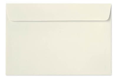 LUX 6 x 9 Booklet Envelopes 250/Box) 250/Box, Natural Linen (4820-NLI-250)