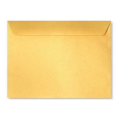 LUX 6 x 9 Booklet Envelopes 50/Box) 50/Box, Gold Metallic (4820-07-50)