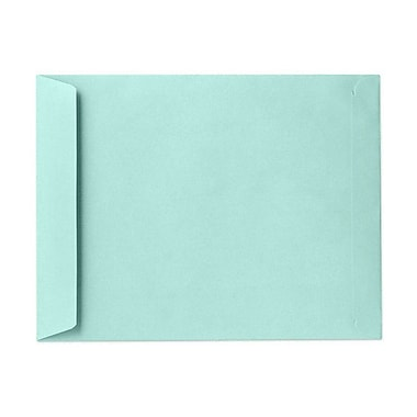 LUX 9 x 12 Open End Envelopes 250/Box) 50/Box, Seafoam (LUX-4894-113-50)