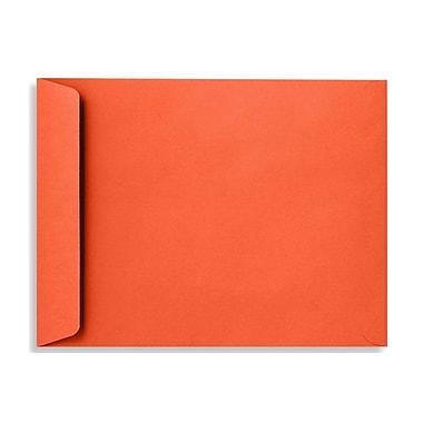 LUX 9 x 12 Open End Envelopes, Tangerine, 50/Box (LUX-4894-112-50)