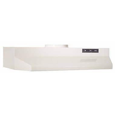 Broan 36'' 190 CFM Ducted Under Cabinet Range Hood; Almond