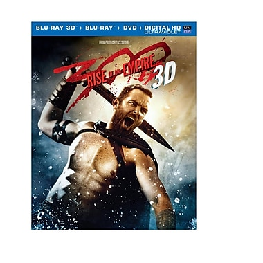 300: Rise of and Empire (3D Blu-ray/Blu-ray/DVD)