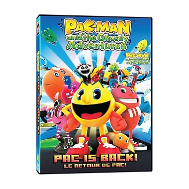 Pac-Man and the Ghostly Adventures: Pac is Back! (DVD)